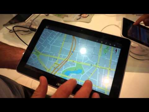 Acer Iconia A3 Tablet Hands-on Demo IFA 2013