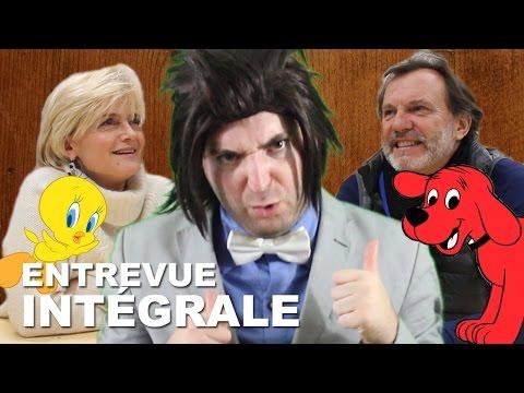 Vidéo INTÉGRAL : Patricia Legrand & Philippe Roullier (doubleurs français)