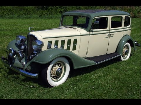 1933 Buick Series 50 Model 57 Sedan - Straight 8 Cylinder - Classic Automobile