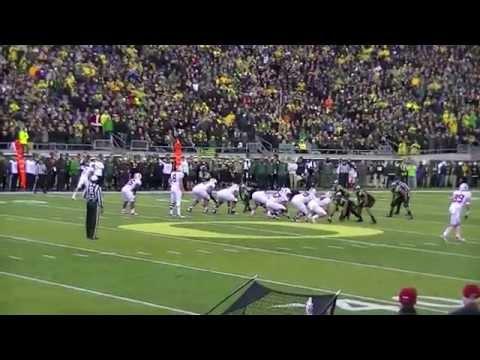 Oregon beats Stanford 45-16 at Autzen Stadium on 11-1-14
