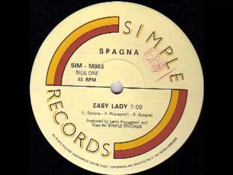 Spagna - Easy Lady (Original Extended Version) 1986