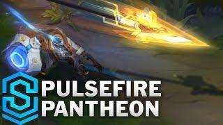 Pulsefire Pantheon Skin Spotlight - Pre-Release - League of Legends