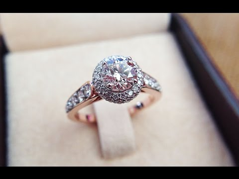 1-carat-gia-certified-solitaire-cluster-halo-diamond-rose-gold-ring