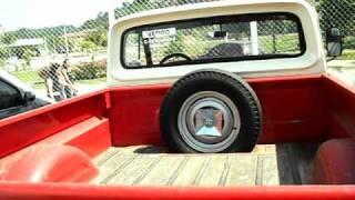 vuclip video pick-up C10 ano 1975 99% original vermelha, linda C10 para colecionador.