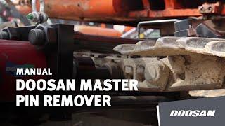 Doosan Master Pin Remover Thumbnail