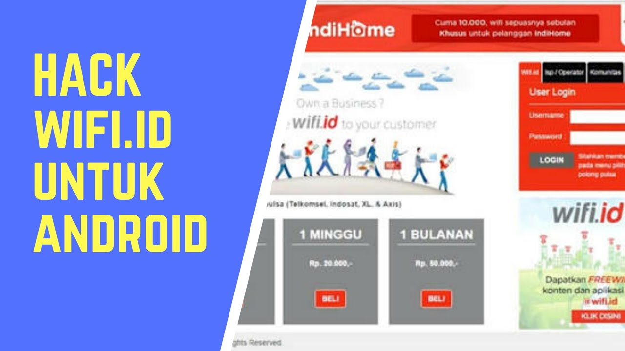 HACK WIFI ID AUTO LOGIN ANDROID 2018
