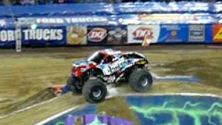 Nitro Circus monster truck backflip