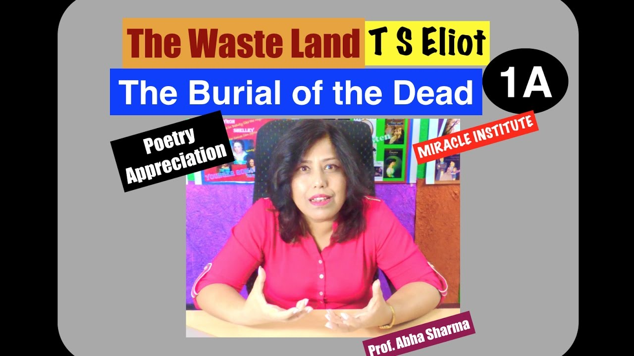 ts eliots the burial of the dead essay