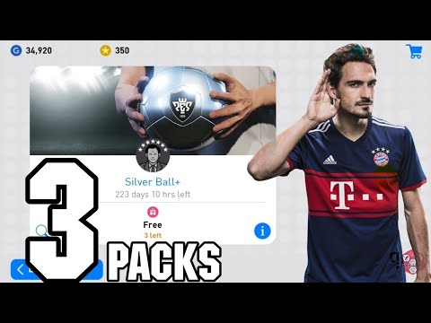 SILVER PLUS PACK OPENING | PES2019 Mobile