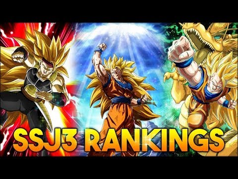THE BEST TEAM IN THE GAME? SUPER SAIYAN 3 CATEGORY TIER LIST! (DBZ: Dokkan Battle)