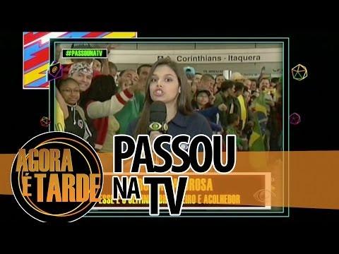 Passou na TV - Agora é Tarde - 1206