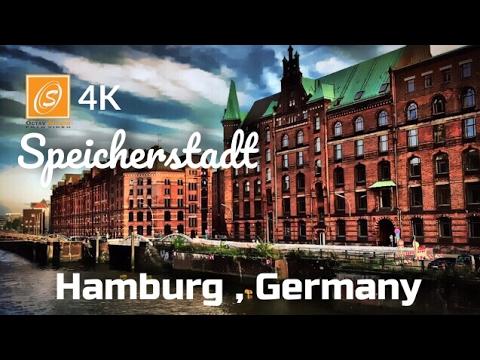 Speicherstadt - Interesting Facts, Hamburg, Germany 4k UHD