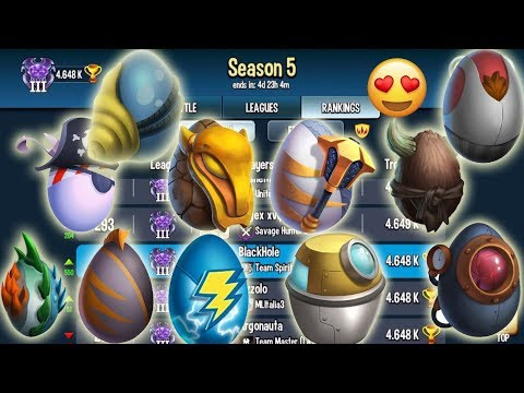 Monster Legends - Best Team Combat & Review Progress Multiplayer Mode Season5 - Player vs Player