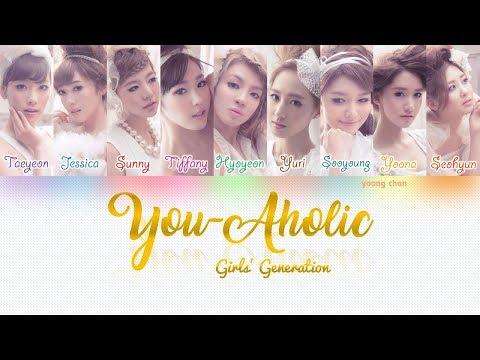 Girls' Generation (少女時代) – You-Aholic Lyrics