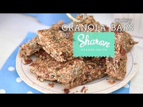 Healthy Granola Bars With Sharon Hearne Smith