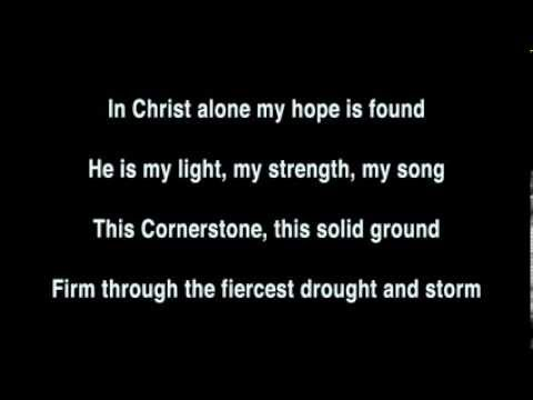 In Christ Alone chords by Stuart Townend, Keith Getty - Worship Chords