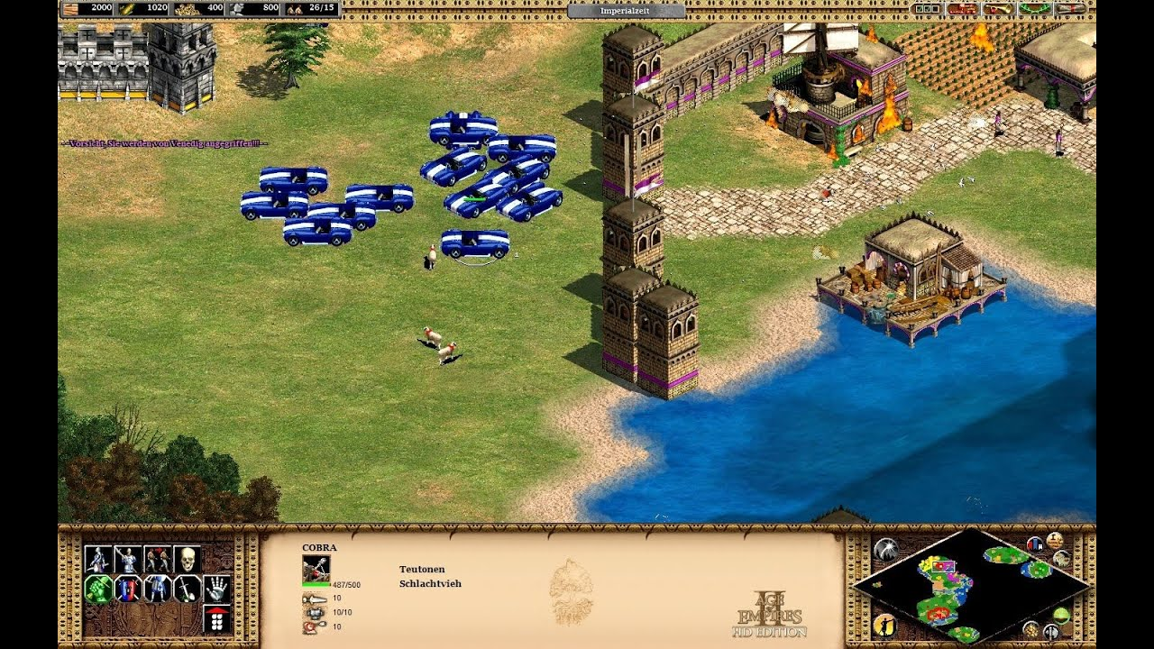 Age of empires ii cheat codes pc