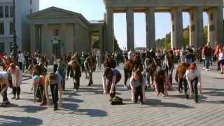 K-Pop Flashmob 04.10.2014 Brandenburger Tor Berlin
