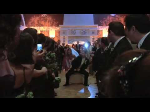 Funny Wedding Exit Dance