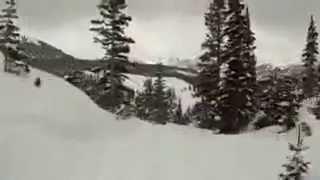 Chute d'une falaise à Telluride Thumbnail