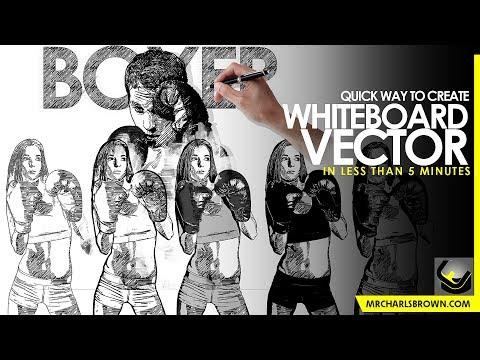 Pure Art Hand Drawing 163 – Whiteboard Vector [TUTORIAL] thumbnail