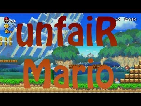 Jugando Unfair Mario... Ahhhh! [Video Reacción Comentado]