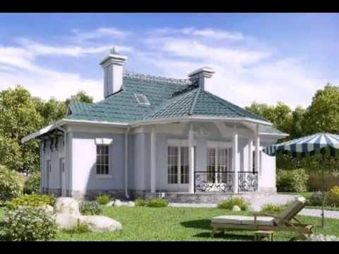Красивые дома и уютные домики. - YouTube