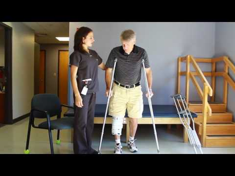 How to Use Crutches - Rehabilitation Services at Memorial Hospital North Conway NH
