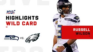 Russell Wilson Secures Wild Card Win w/ 370 Total Yds & 1 TD