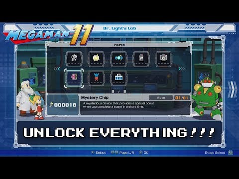 Mega Man 11 - Guide: How to Unlock EVERYTHING (All Parts