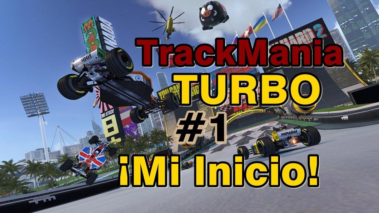 ¡Mi Primera Carrera en TrackMania Turbo!