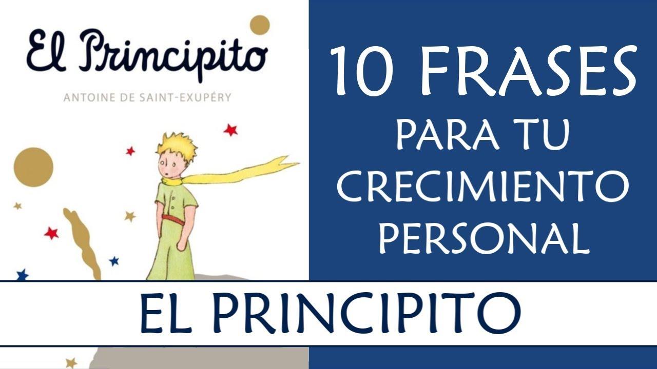 10 Frases Del Principito Imprescindibles En Tu Crecimiento Personal