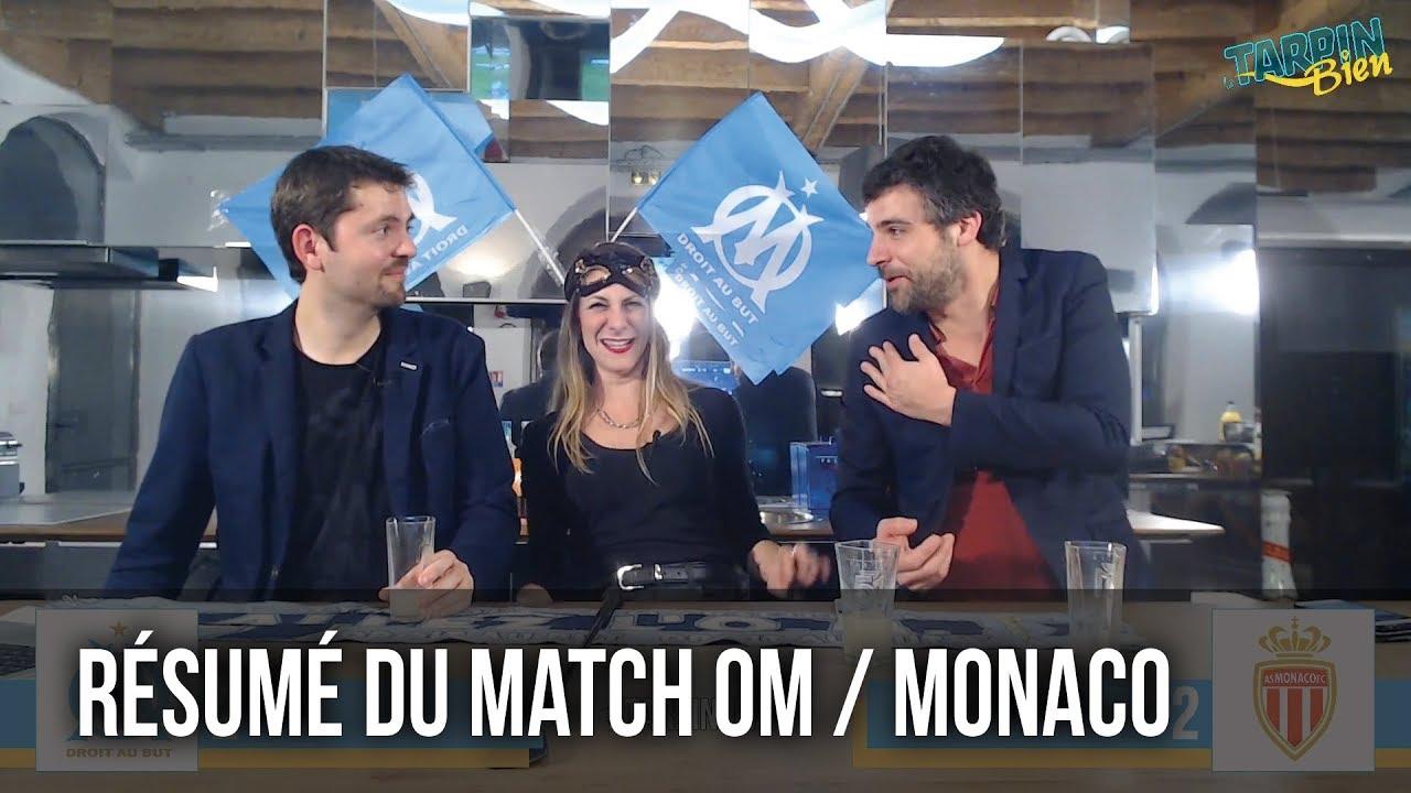 r u00e9sum u00e9 du match om    monaco