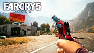 Far Cry 5 - ULTIMATE HAND CANNON (Far Cry 5 Free Roam) #49