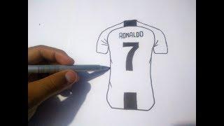 Como Desenhar Blusa Do CR7 ( JUVENTUS )