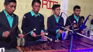 Marimba GuateMaya en Vivo Aldea Quetzal, Barillas