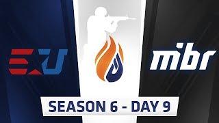 ECS Season 6 Day 9 EUnited vs MIBR - Mirage
