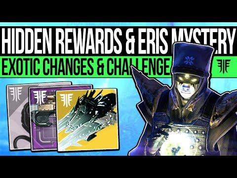 Destiny 2   HIDDEN EXOTIC & ERIS MYSTERY! Exotic Change, Summoning Ritual, New Challenge Loot & More
