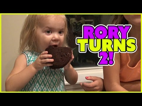 RORY TURNS 2 | SURPRISE PARTY | PEPPA PIG AND SHOPKINS | FAMILY VLOG EP 23