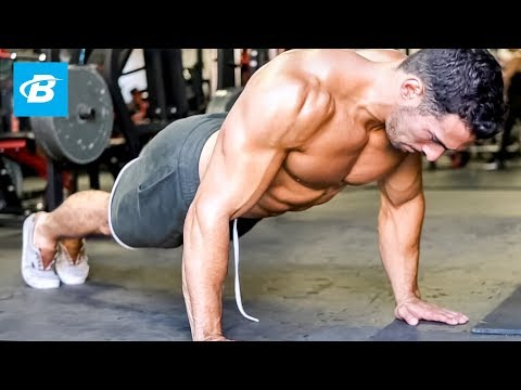 Muscle-Building Upper Body Workout - Chest, Shoulder, & Triceps | Brian DeCosta