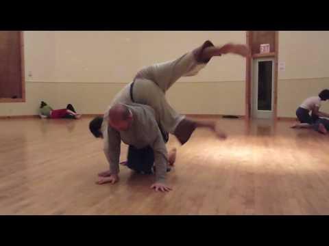 Contact Improvisation: Blake Nellis & Brando @ Earthdance