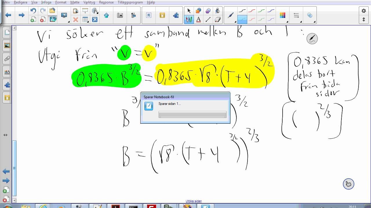 Matematik 2b - NP 2015 - Uppgift 22