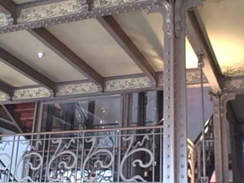 Art nouveau building,  the Museum of Musical Instruments, Brussels,