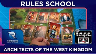 How to Play Architects of the West Kingdom (Rules School) with the Game Boy Geek