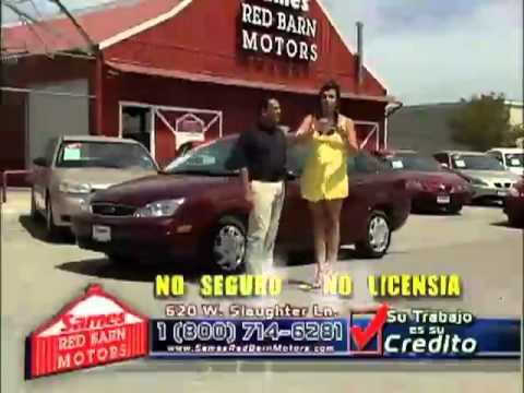 Sames red barn motors austin youtube for Sames red barn motors