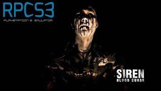 Siren: Blood Curse - RPCS3 TEST (Menu / Intro)