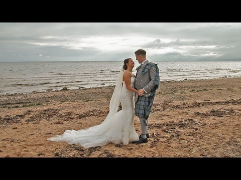 Stephanie and Allan's Wedding Video at Seamill Hydro