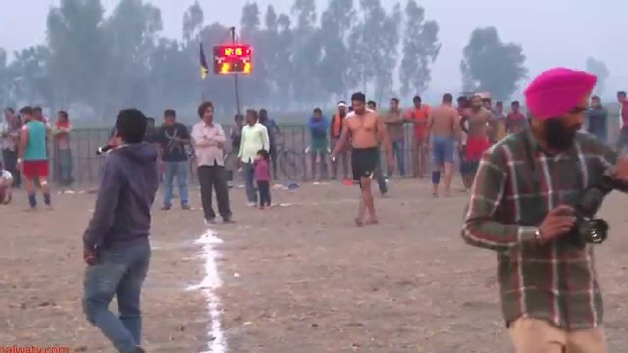 NIMAZIPUR (Shahkot) || KABADDI TOURNAMENT - 2015 || OPEN SEMI FINALS || Full HD ||