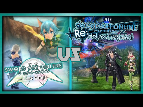 【Sword Art Online】: Lost Song vs Re: Hollow Fragment