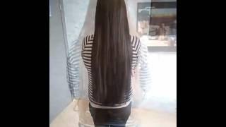 Афроточечное наращивание волос.